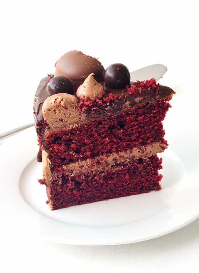 Red Layer Cheesecake Velvet
