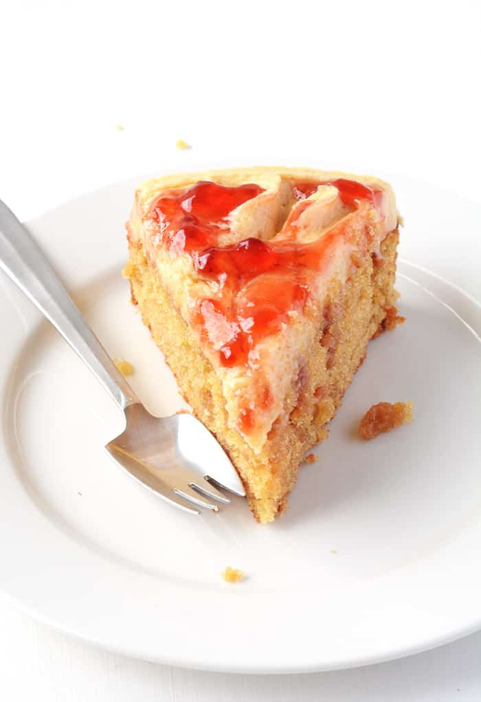Peanut Butter and Jelly Cake