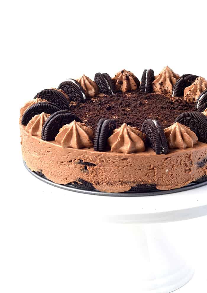 Oreo Chocolate Cheesecake Icebox Cake