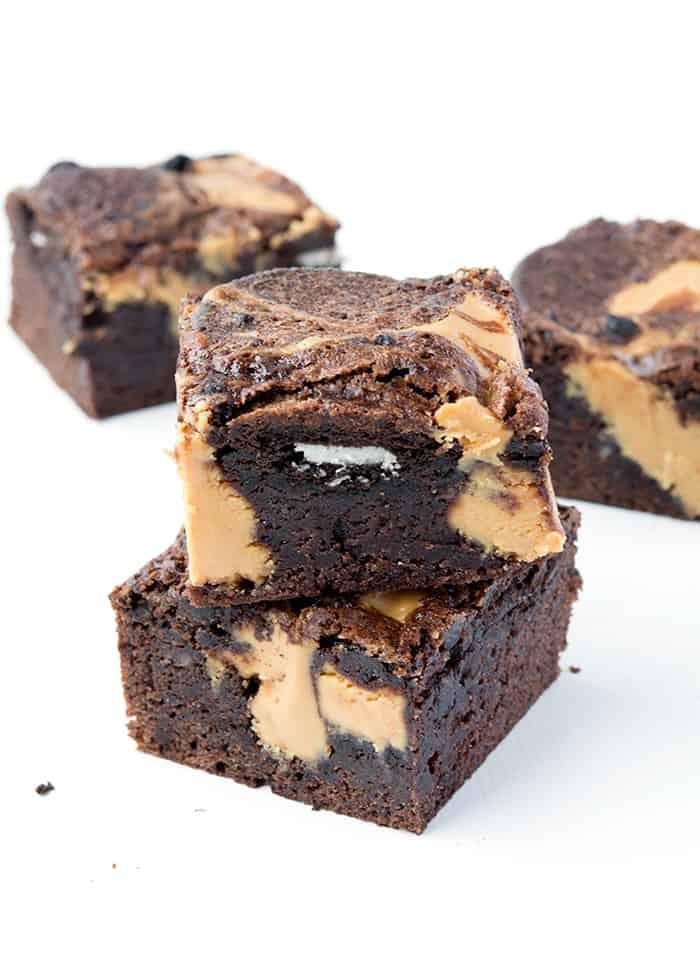 Peanut Butter Oreo Brownies