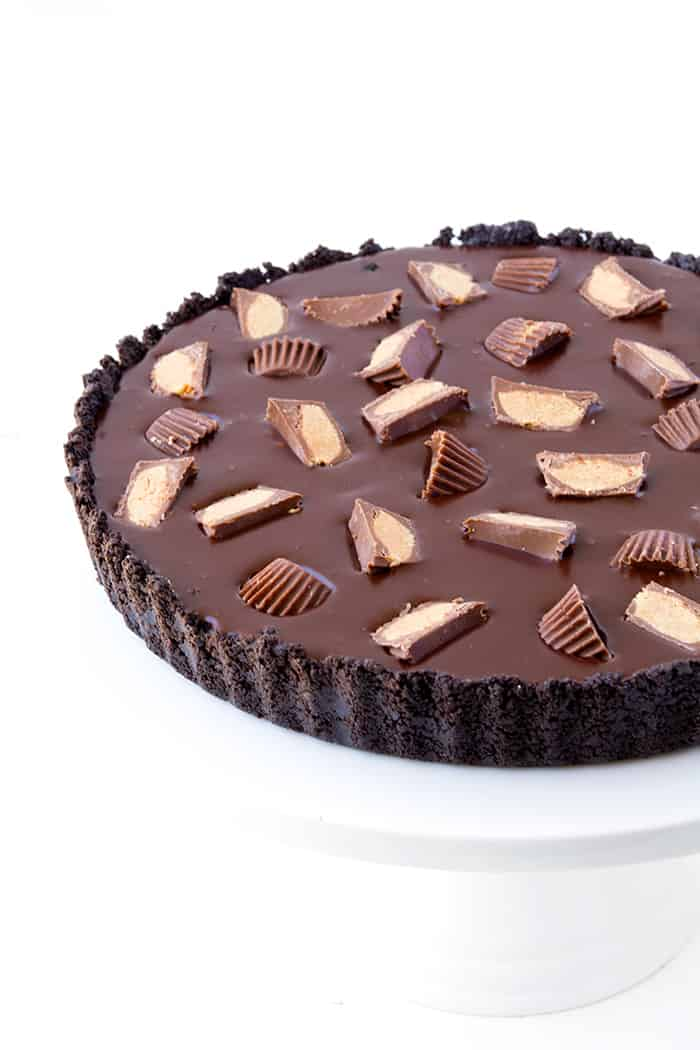 No Bake Oreo Peanut Butter Tart