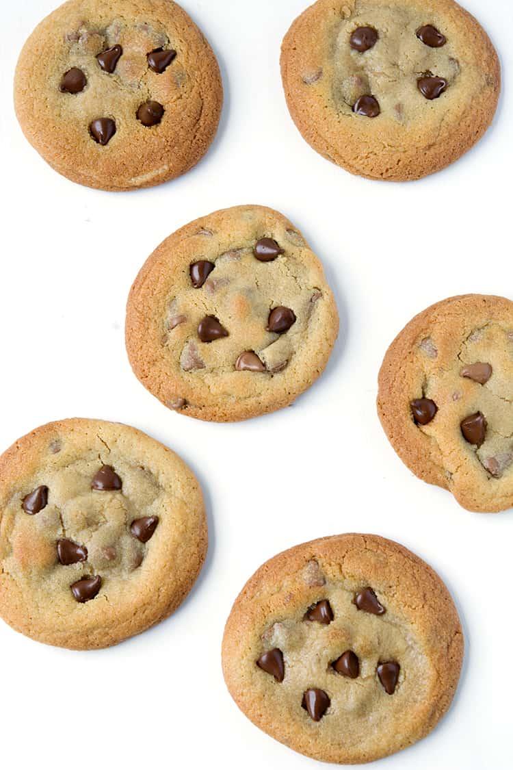 Cookie Dough Stuffed Chocolate Chip Cookies | via sweetestmenu.com