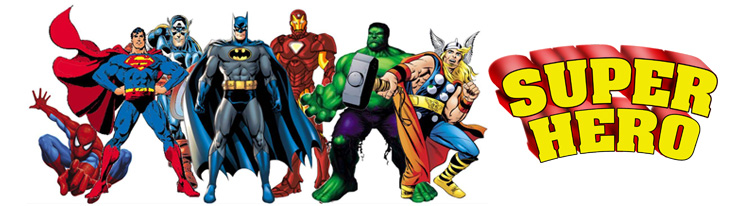 Superhero Cakes - Blog