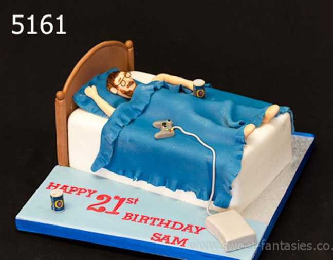 Marvelous Boys 21St 18Th Sweet Fantasies Cakes Stoke On Trent Funny Birthday Cards Online Fluifree Goldxyz
