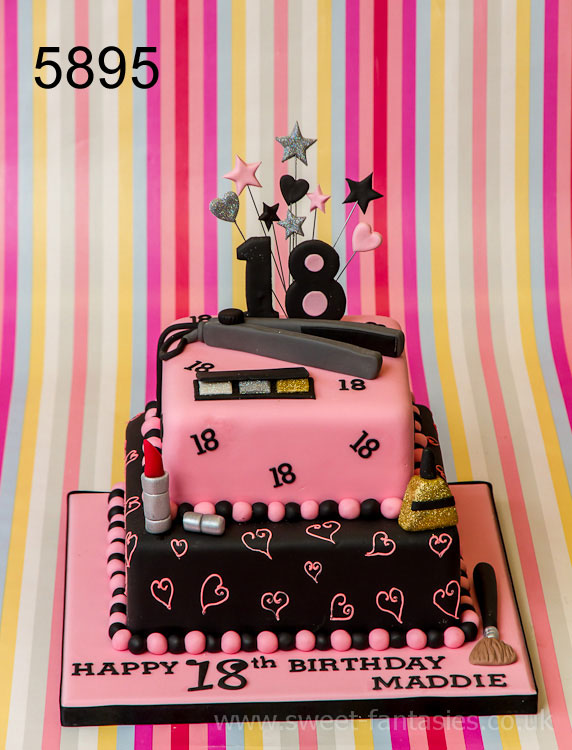 2 Tier - 3D Boot - girls 18th birthday cake