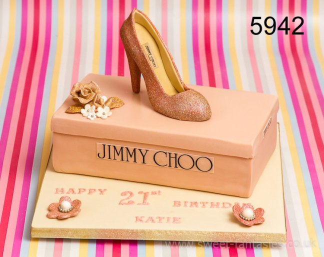 Sheo Box & Shoe - Girls 21st birthday cake