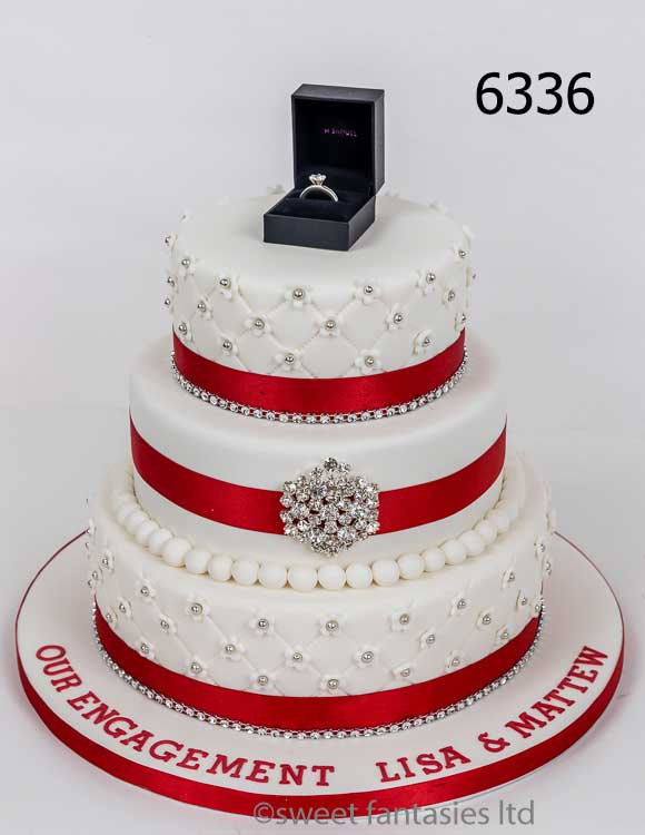 Engagement cakes - 3 Tier