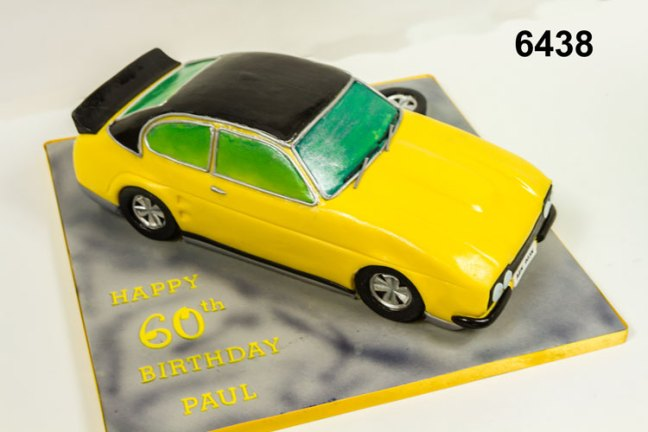3D Old Ford Car Cake