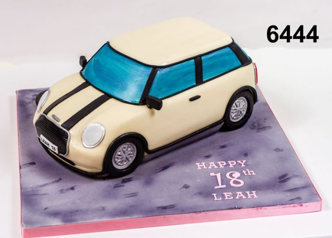 3D Mini Car Birthday Cake