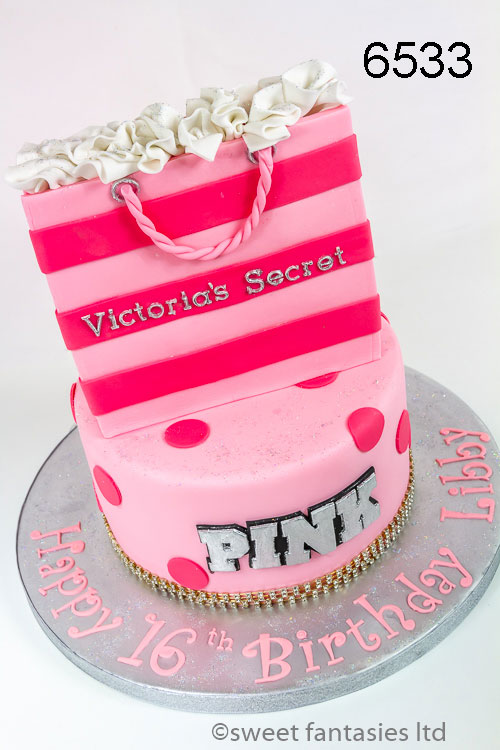 Victoria's Secret Bag Birthday Cake