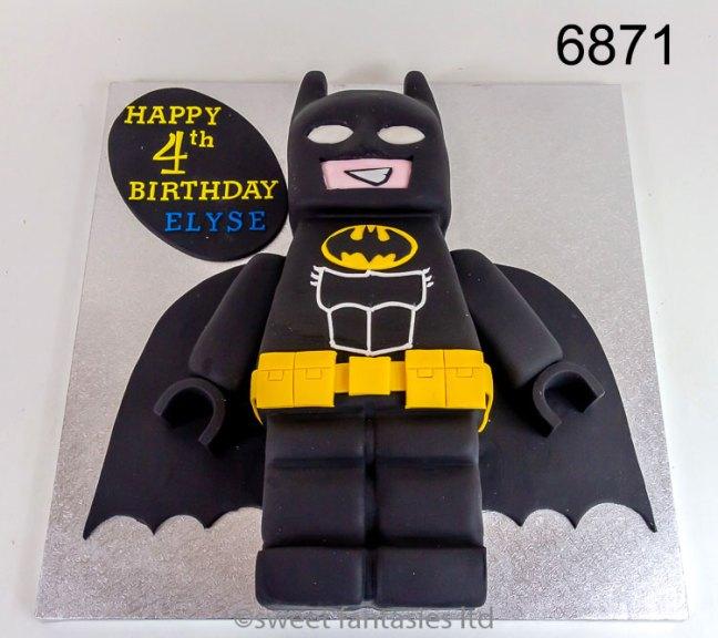 3D Lego Batman, birthday cake