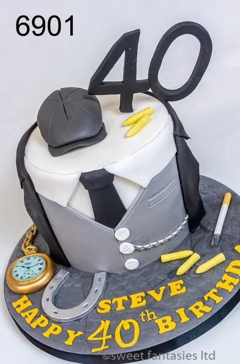 Mens birthday cakes, Peaky Blinders Theme