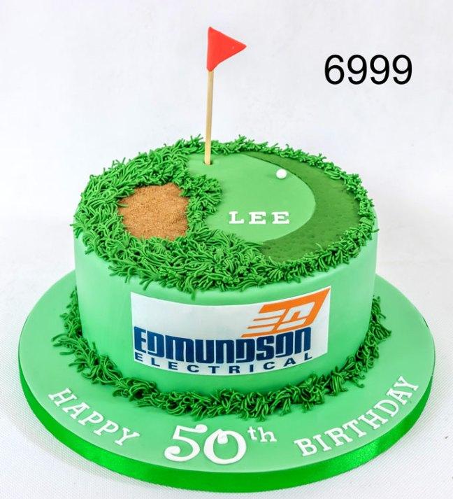 Golfers Birthday Cake