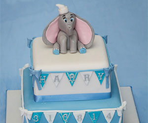 Christening Cakes for Boys - sweet fantasies