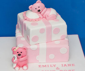christening cakes for girls - sweet fantasies cakes gallery 2