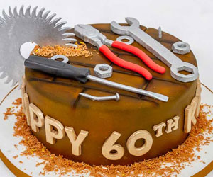 mens's birthday cakes