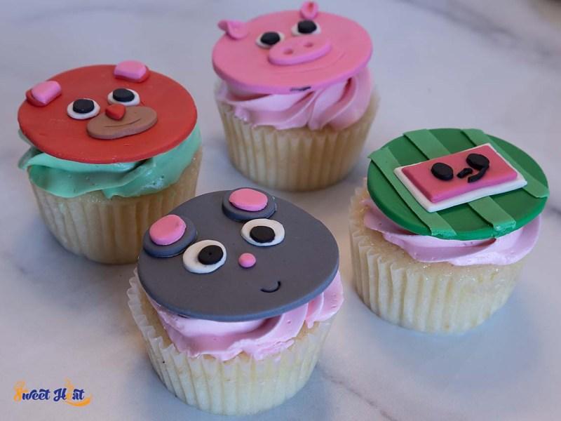 Cocomelon Cupcakes