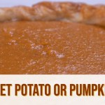 Sweet Potato Pumpkin Pie