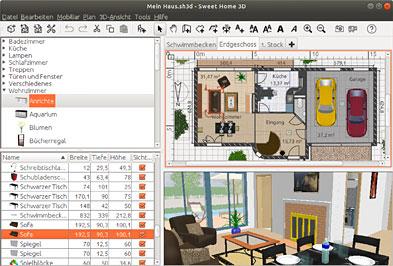 Sweet home 3d aplicaci n de dise o de interiores - Aplicacion para diseno de interiores ...