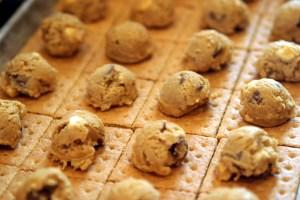 Smores Cookies pre-baking