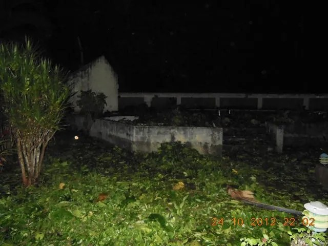 Night time Hurricane Sandy Jamaica
