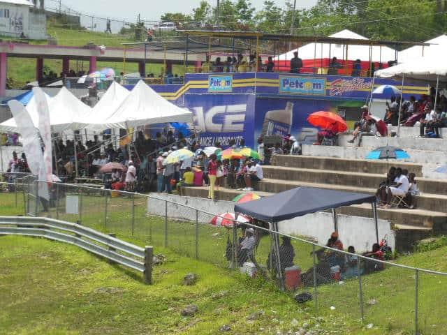 Spectator Stands Dover Raceway