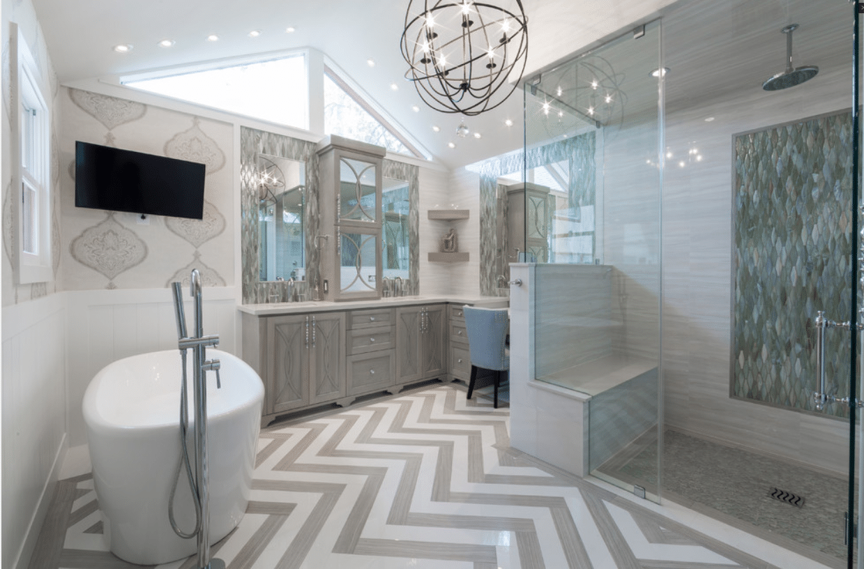 Rice University   Houston, TX   Spacious U0026 Luxurious Spa Bath U0026 Closet  Remodel