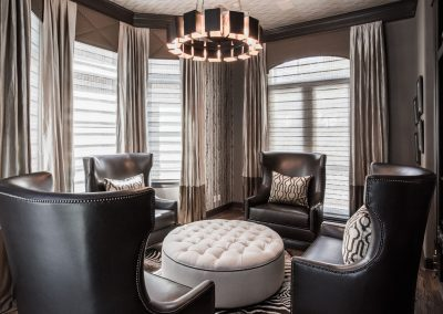 Meadows | Downtown Houston | Elegant Masculine Transitional Remodel