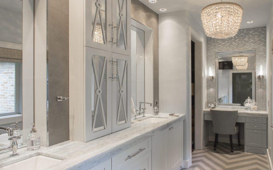 White Kitchen & Master Bath | 1920's Bolsover Home Remodel | 2015