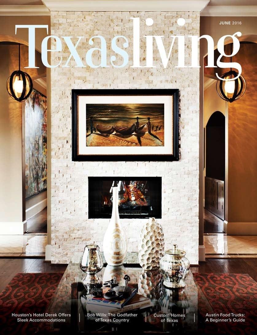 Texas Living Magazine With Sweetlake