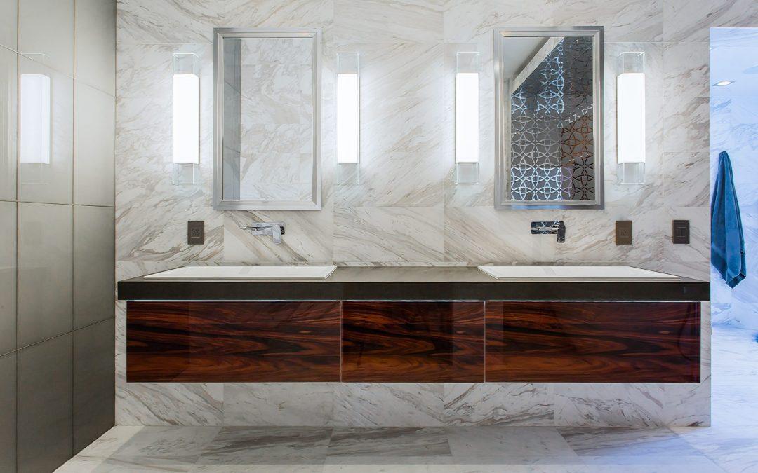 Luxurious Ultra-Modern Master Bath | Kemah, TX | 2016