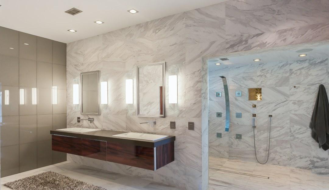 Ultra Modern Master Bath | Kemah, TX | 2016