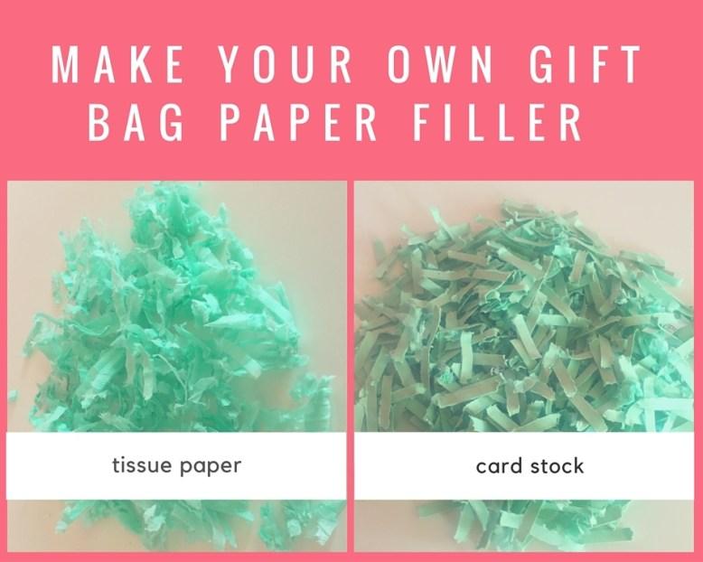diy shredded paper filler