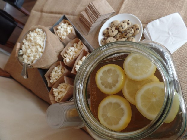 Iced Tea with Lemon & Honey | Simple Guide To Serving Food at Your Open House | Sweet Lane Events
