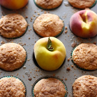 Perfect for summer, these ginger peach muffins are so refreshing! These are vegan and only require 1 bowl!
