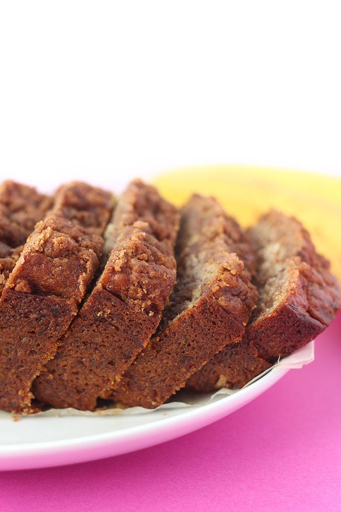 Vegan Coffee Cake Banana Bread