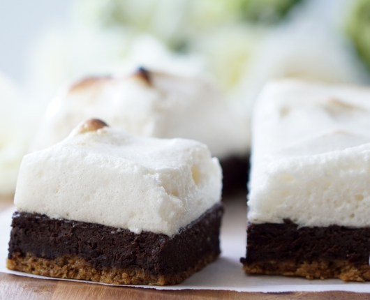 Click on the image and find the recipe for the S'Mores Fudge Bars that are actually GOOD FOR YOU! They are all-natural (no protein powders or any other artificial stuff), low-fat and low-sugar; they are high in healthy lean protein and full of vitamins, antioxidants and healthy whole grains! It's OK to have an extra piece...