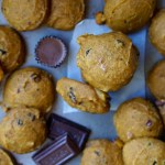 Healthy Low-Calorie Pumpkin Candy Cookies