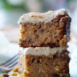 The Healthy Carrot Cake is low-calorie, low-carb, low-fat, all-natural, super-gooey and extra-sweet! It's topped with the naturally sugar-free and fat-free Healthy Cream Cheese Frosting... And it's also very easy and fun to prepare!