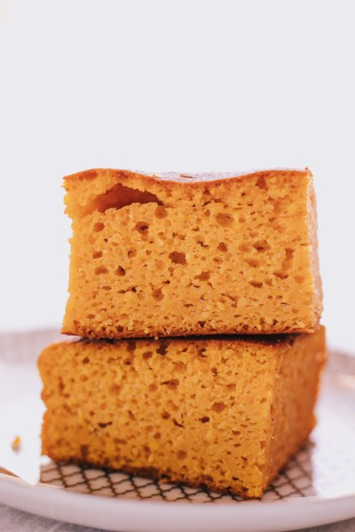 LOW-CALORIE PUMPKIN CORNBREAD RECIPE + A FEW WORDS ABOUT SELF-CARE!