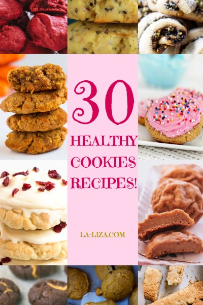 A COOKIE PARTY! 30 HEALTHY COOKIE RECIPES!