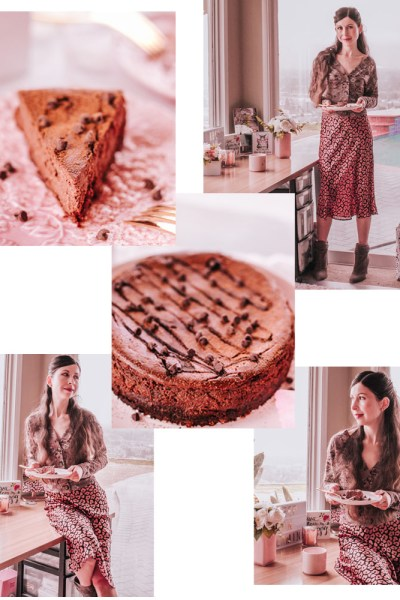HEALTHY CHOCOLATE CHEESECAKE RECIPE!
