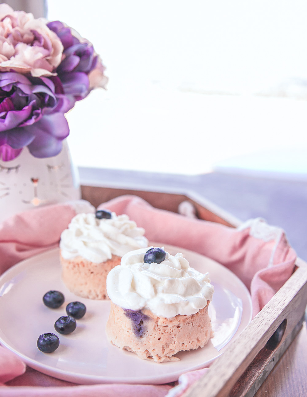 Healthy Blueberry Cupcakes Recipe: they are low calorie, all-natural, wholesome and beautiful! #healthydessert #healthysnack #lowcaloriedessert #lowcaloriesnack #lowcalorie #lowcalorierecipe #healthy #healthyrecipe #healthydessertrecipe #lowcaloriemeal #wholegrain #easyrecipe #healthycupcake #lowcaloriecupcake #healthycupcakes #lowcaloriecupcakes #lowcaloriefrosting