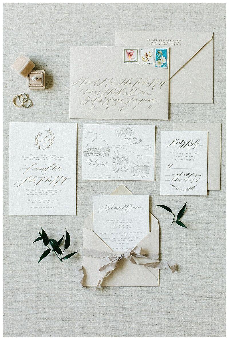 Colorado Wedding Planner Destination Invitations Vail Beaver Creek