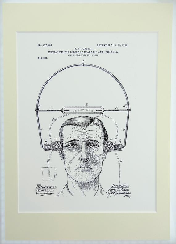 Patent Application by Long Victoria Prints on Etsy