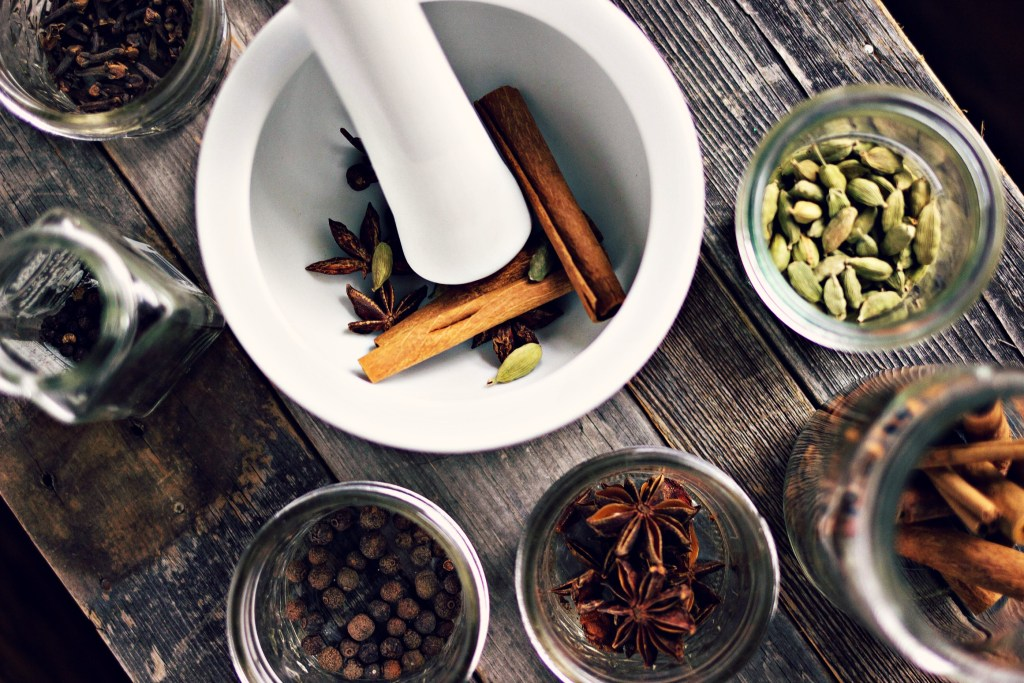 spicy tulsi chai concentrate | via sweet miscellany