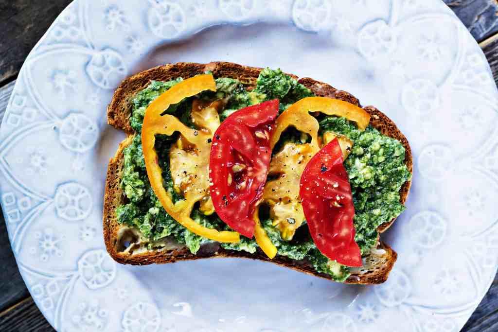 summer superfood avocado toast | plant based recipes via sweet miscellany