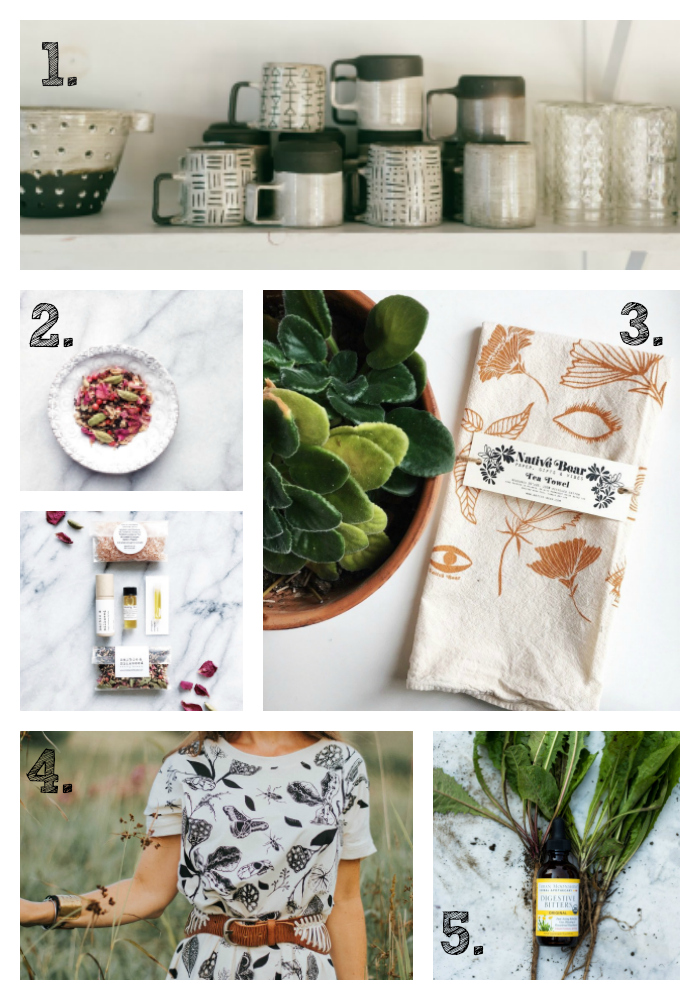 the sweet miscellany holiday gift guide volume 1: my favorite makers & shakers