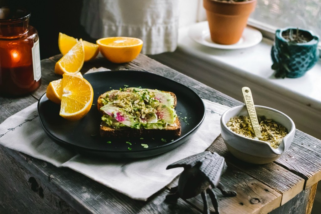 winter avocado toast with cheezy toasted pepita sprinkle | plant based goodness via the sweet miscellany blog
