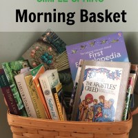 Simple Spring Morning Basket | Free Printable
